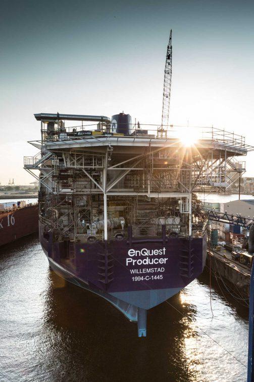 EnQuest Producer, Oil platform | © Eric Shambroom Photography