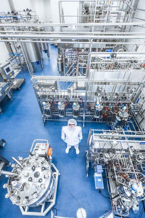 Production of bio-pharmaceuticals | © Eric Shambroom Photography