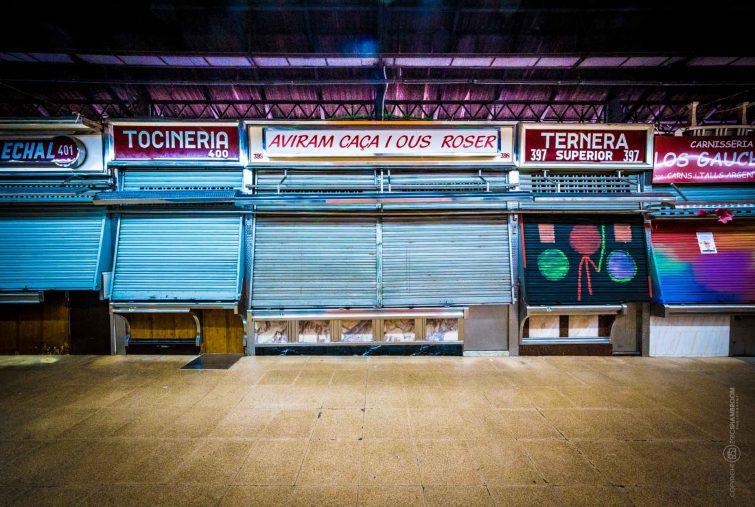 Barcelona Markthalle   © Eric Shambroom Photography
