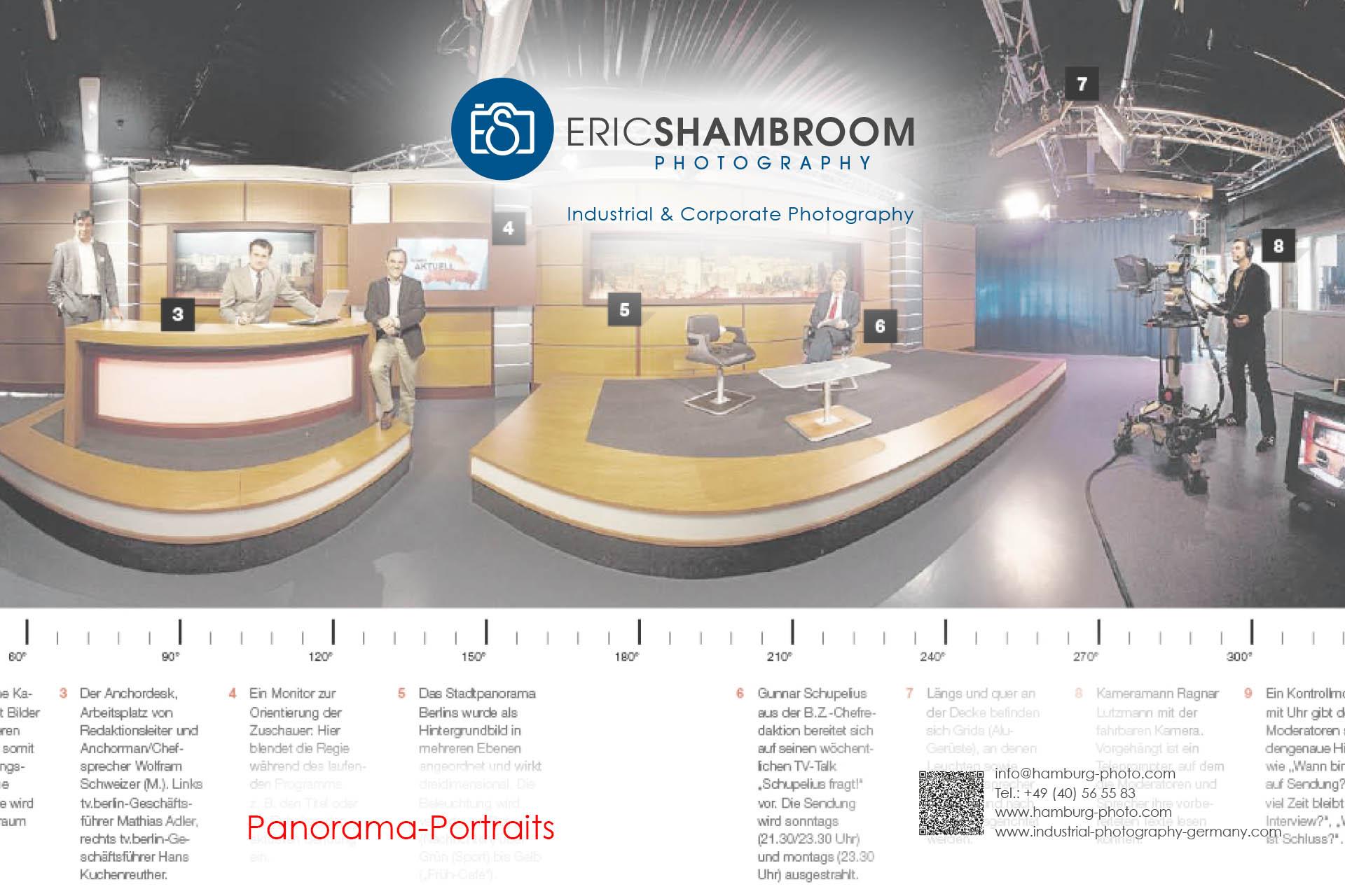 Eric Shambroom Photography Portfolio: Panorama 360 Degree Portraits