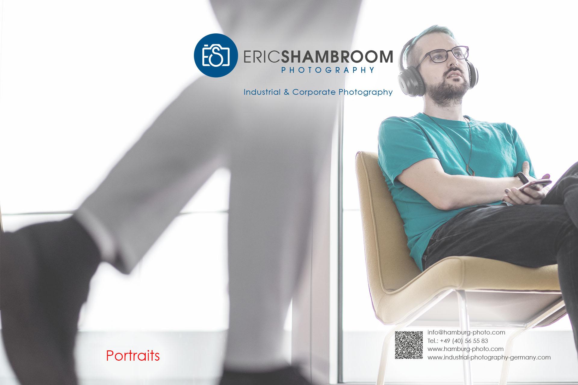 Eric Shambroom Photography Portfolio: Executive Portraits, Business Portraits